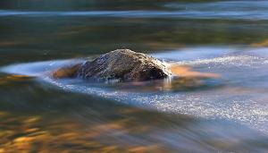 het effect van één steen