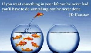Leren is uit je comfort zone komen